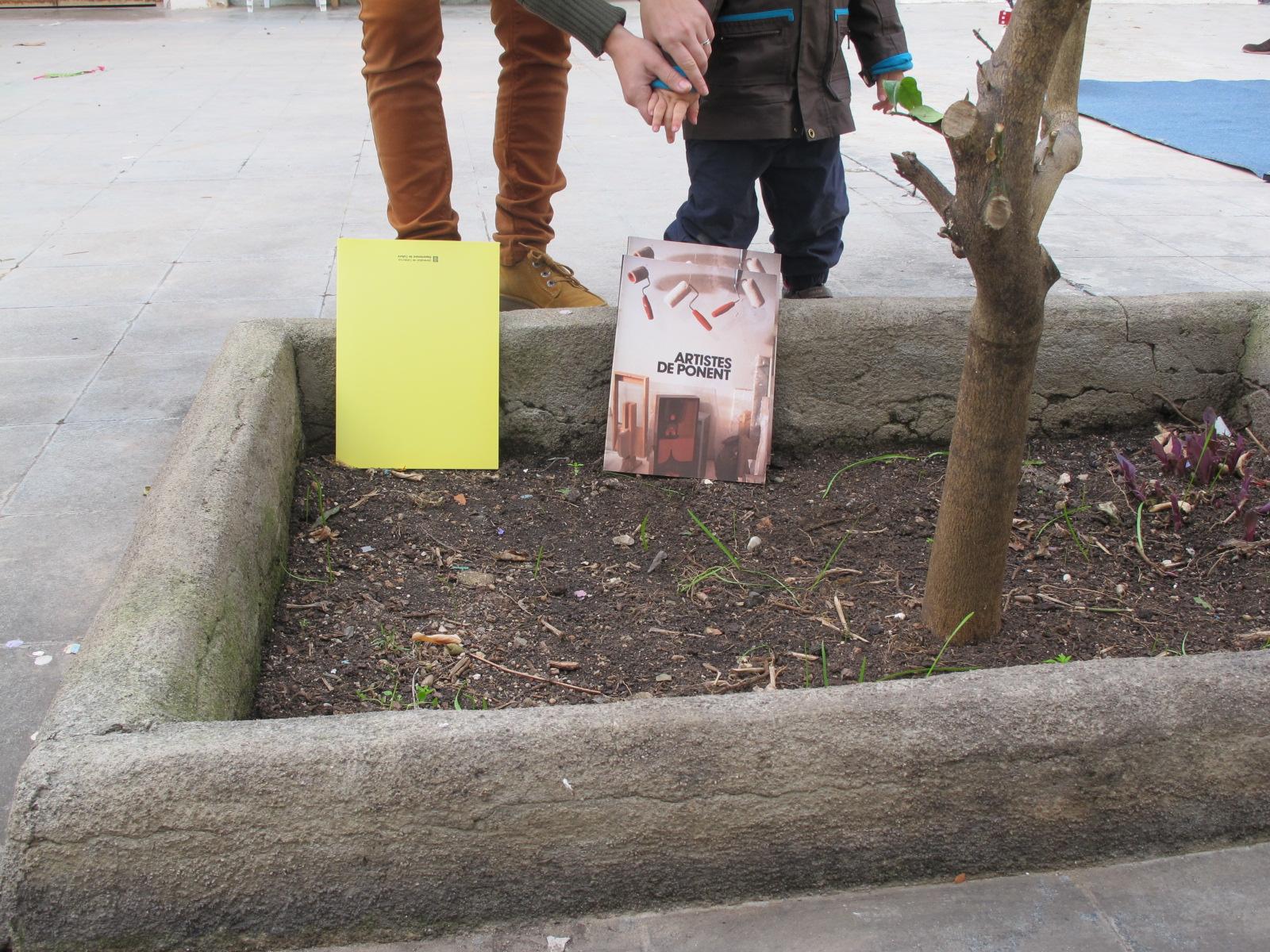 Plantar llibres, regar-los