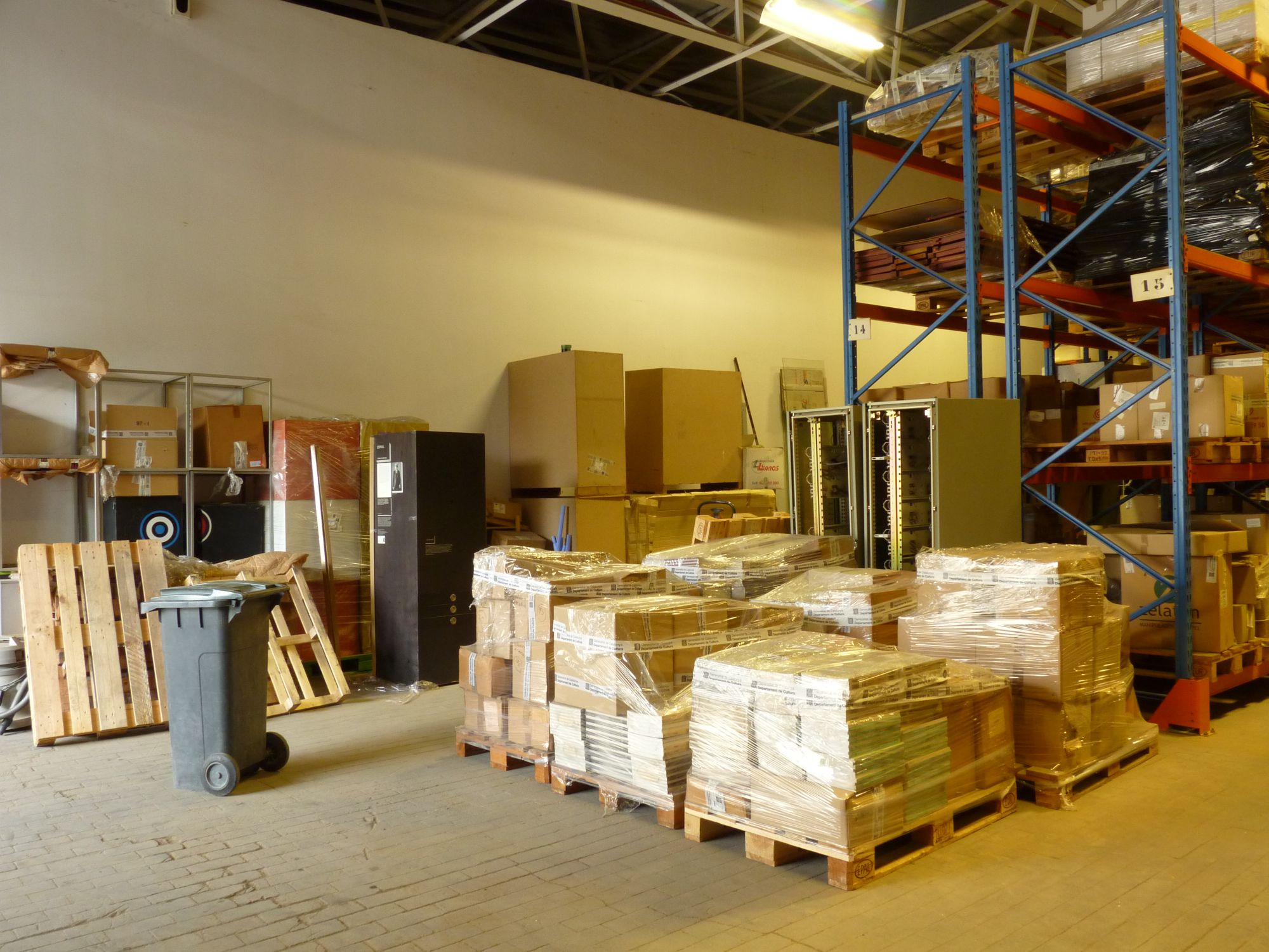 Trasllat magatzem-ASM